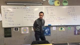 Harder Motion (2 of 2: Finding an expression for particle B to substitute time into to find x)
