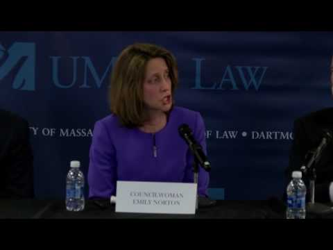 UMASS Law  An Immigration Symposium Sanctuary City Panel