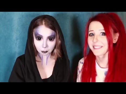 Alien Муранья Выжить после makeup tutorial by Anastasiya Shpagina