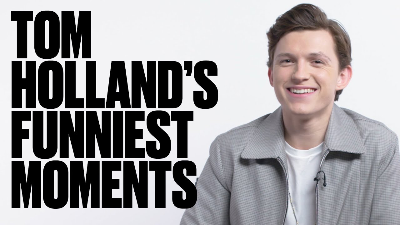 The Funniest Tom Holland Moments | LADbible