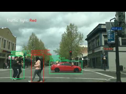 Real-time vehicle and pedestrian detection in downtown Mountain View