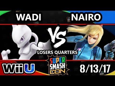 Smash Con 2017 Smash 4 - EMP   Wadi (Mewtwo) Vs. NRG   Nairo (ZSS) Wii U LQ