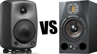 Genelec 8030 vs Adam A7X (тест звуку, огляд студійних моніторів, відгуки)