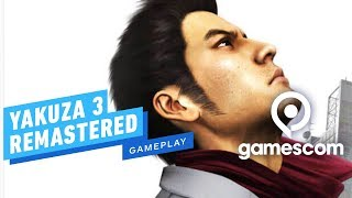 21 Minutes of Yakuza 3 Remastered Gameplay - Gamescom 2019