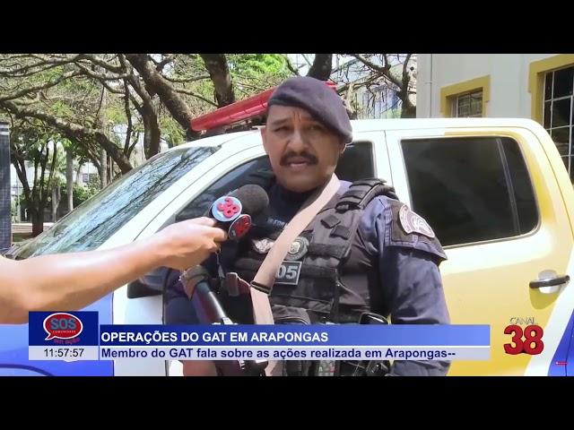 CONFIRA AS ÚLTIMAS BRONCAS ATENDIDAS PELA PRESTATIVA GUARDA MUNICIPAL DE ARAPONGAS