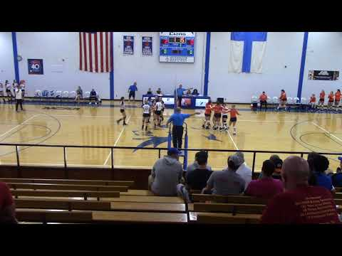 Volleyball - Finlandia vs. Northland College - Sept. 12, 2018 - Part 1