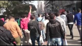 طلاب ضد الانقلاب يواصلون الحراك الثوري