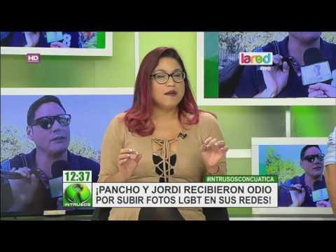 El odio que recibieron Pancho y Jordi por compartir fotos LGBT