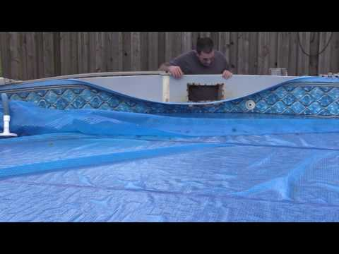 Pool Skimmer Hole Repair