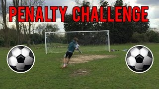 FOOTBALL PENALTY CHALLENGE!!!