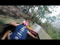 GoPro View: Race Souped Up Tinnies 90km/hr down the Murray River!