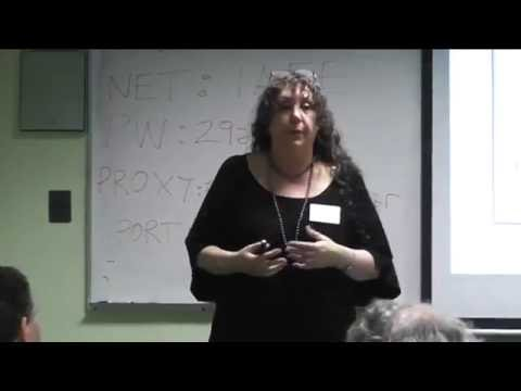Olimpia Lombardi in Buenos Aires 2015. International Workshop: What is Quantum Information?