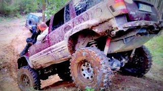 Jeep Grand Cherokee WJ- 4x4 V8 engine -Drobeček off road
