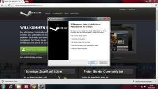 Steam Spiele speichen und verwalten