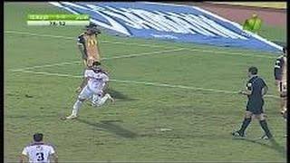اهداف مباراة الزمالك والانتاج الحربي 1-0 اليوم [الدوري المصري] شاشة كاملة HD