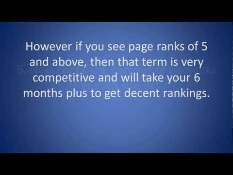 SEO Tip - How to analyze your local business competitors