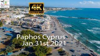 Paphos Cyprus Aerial Video Kato Paphos 4K Drone Video