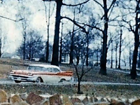 Graceland 1958 UNSEEN 8mm Film Footage ELVIS PRESLEY HOUSE Memphis Tennessee