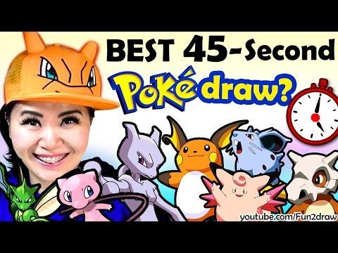 BEST 45-Second ART CHALLENGE? | Artist vs Time Draw