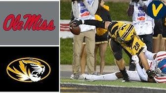 Ole Miss vs Missouri | Week 7 | College Football Highlights