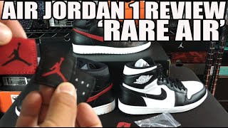 """Extra Patches FTW! """"Rare Air""""Air Jordan 1 Review! (OG Comparison & On Feet)"""