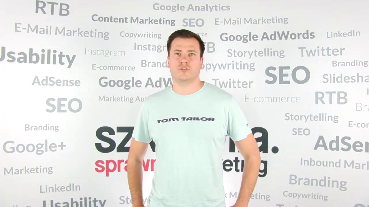 Szkolenie Google Analytics – opinia Remigiusz Jagusiak
