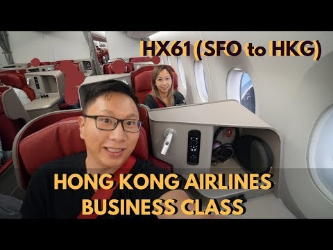 Business Class | SFO-HKG | Hong Kong Airlines (A350)
