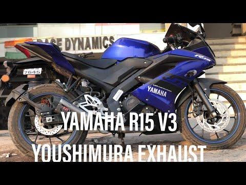 YAMAHA R15 V3 VERSION 3 YOSHIMURA EXHAUST FITTING