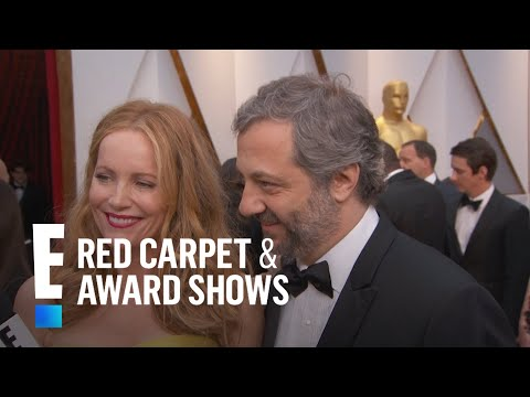 Leslie Mann & Judd Apatow on Celebrating 20 Years of Marriage   E! Live from the Red Carpet
