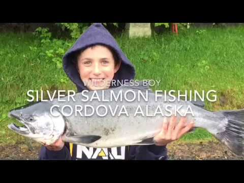 Wilderness Boy - Silver Salmon Fishing in Cordova Alaska