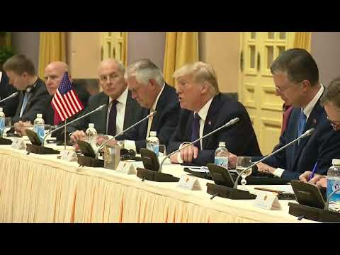 President Trump Participates in a Bilateral Meeting with President Tran Dai Quang of Vietnam