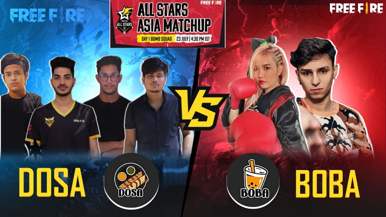 FREE FIRE LIVE ASIA ALL STAR DAY 3 || BATTLE ROYAL --GARENA FREE FIRE