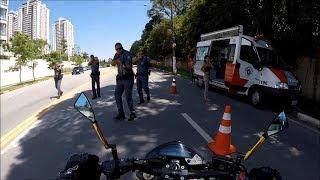 Así para la Policía a las Motos en Brasil #7 2018