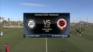 Sturm Graz vs Sparta Prague full match