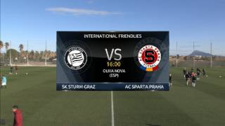 Spielaufzeichnung: SK Sturm Graz 0:5 Sparta Prag (0:2)