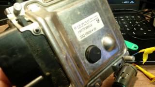 прошивка блока управления с УАЗ Патриот БОШ МЕ17.9.7.1 часть 1(чтение пароля)