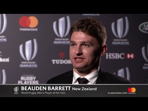 Barrett wins World Rugby Player of the Year 2017