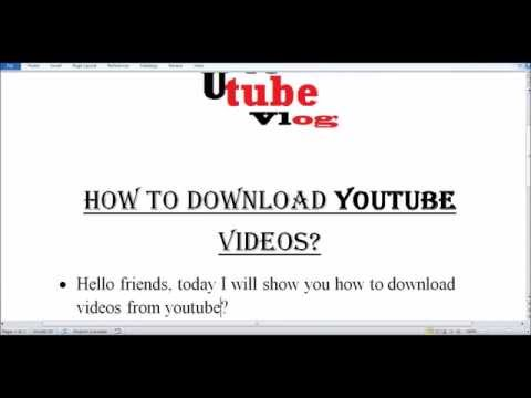 How to Download YOUTUBE and DAILYMOTION videos (Fast and Easy)