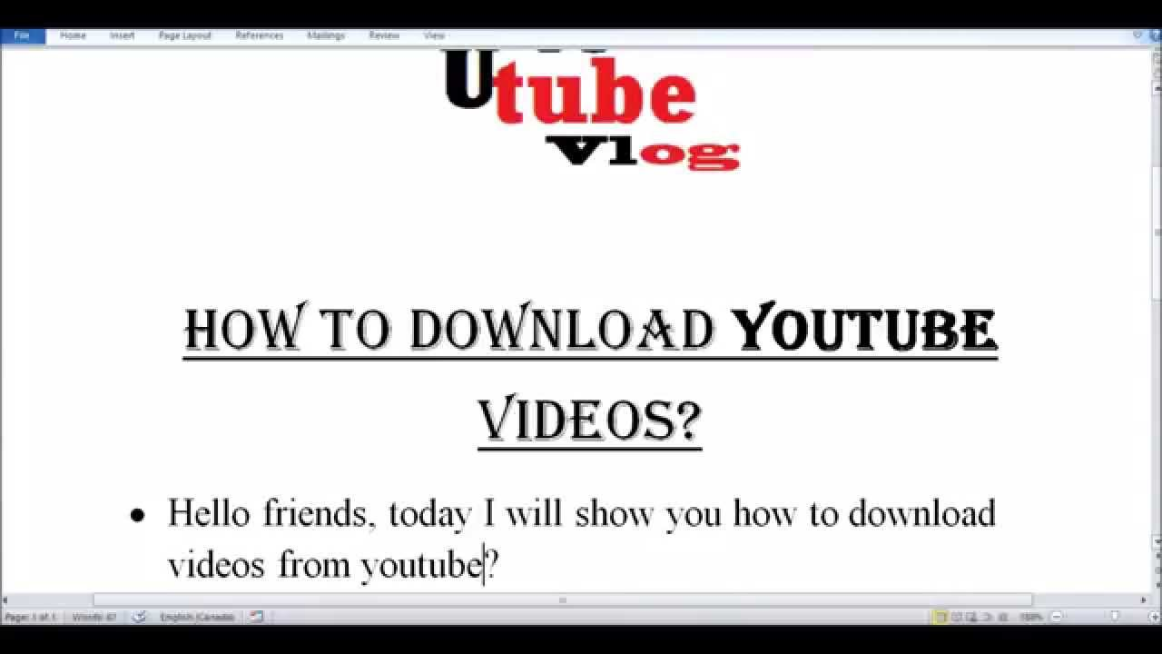 How to download youtube and dailymotion videos fast and easy youtube how to download youtube and dailymotion videos fast and easy ccuart Image collections