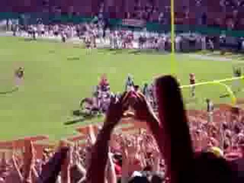 Larry Johnson touchdown