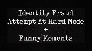 Identity Fraud - Attempt At Hard Mode + Funny Moments (Roblox) ♥