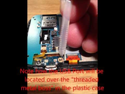 Repair HTC Incredible 2 USB Charge Port