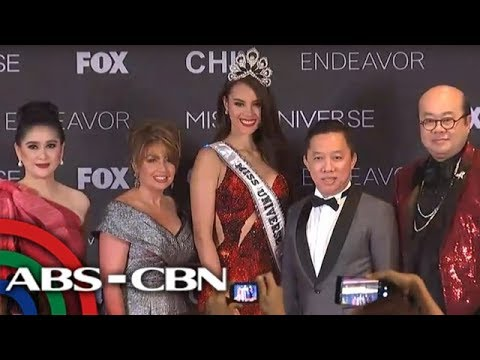 WATCH: Catriona Gray in first press conference as Miss Universe 2018  | 17 December 2018