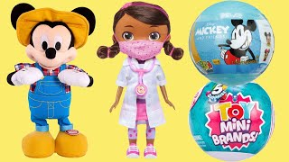 Mickey Mouse Clubhouse Farm & Doc McStuffins Wash Your Hands Doll