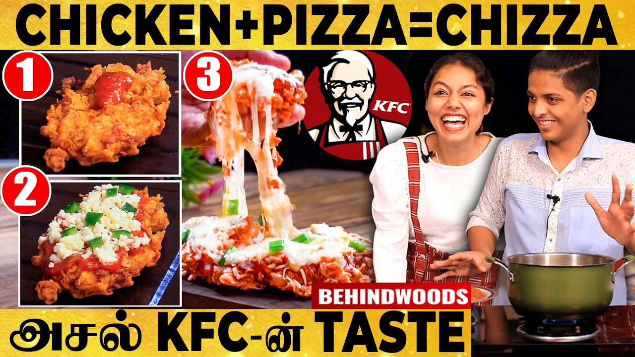 Download MOUTH WATERING🤤Preparation of KFC's CHIZZAAA!!!😍Best Crunchy and Cheesy DISH! CHIZZA Ft. Chef YKU