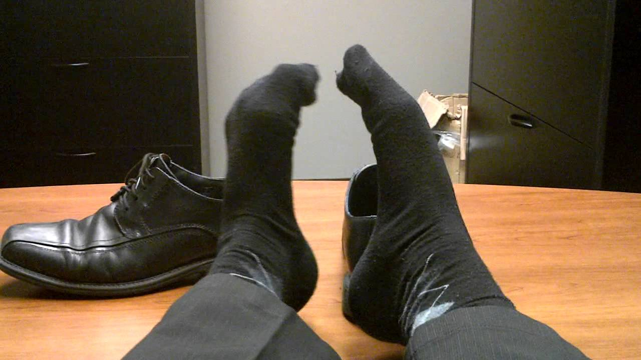 Taking off my socks to show off my perfect soles and toes 10