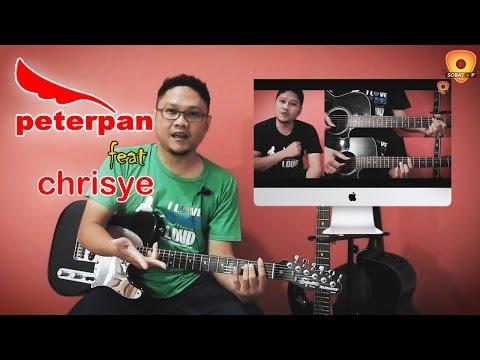 Tutorial Gitar Menunggumu - Peterpan feat Chrisye Lengkap (Chord, Intro, Melodi, Outro By Sobat P)