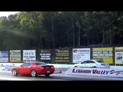 2013 Ford SHO vs SRT8 @ Lebanon Valley Speedway 1st Race
