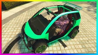 How To Get RARE NAKED MODDED PANTO CAR in GTA 5 Online | RARE Modded Car Glitch PS4/Xbox One/PC 1.42 thumbnail