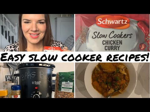 Slow Cooking Recipes | Slow Cooker Meals | Winter Family Meals | Easy Recipes | Kate McCabe